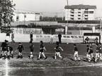 Armido Cologni al torneo di calcio aziendale.