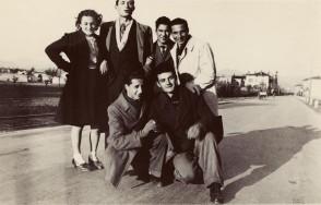 Angelo Nittoli con i giovani colleghi.