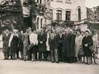 Foto di gruppo del Cral di Costa Volpino al Castello di Miramare.