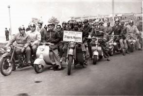 Motociclisti del Cral aziendale di Dalmine al 3° Motoraduno nazionale.