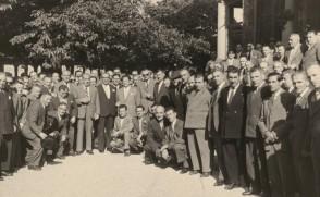 Foto del Gruppo Lavoratori Anziani durante una gita.