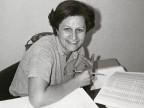 Franca Fiorendi negli uffici del Centro tubi in resine.
