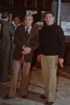 Franco Nappo con i colleghi durante un evento aziendale.