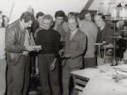 Gisberto Ianni in una foto di gruppo con i colleghi.