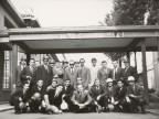 Vito Vardanega in una foto di gruppo con i colleghi.