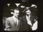 Vito Vardanega in un fotogramma di una trasmissione in TV.