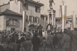 Cerimonia religiosa a Mariano.