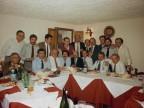 Pasquale Farella a cena con i colleghi dello stabilimento campano.