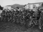 I ciclisti del Cral aziendale a Torino per il Giro cicloturistico.