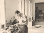 Emilio Renato Cattaneo al lavoro.