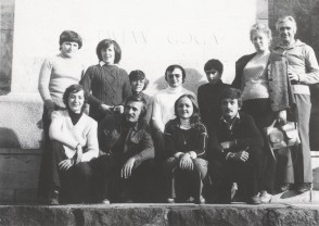 Tourism club made of ITZ employees. Early 1980s