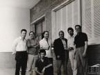 Mario Lieti con gli amici.