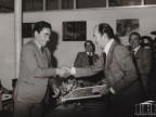 Lino Steli premiato per la fedeltà aziendale.