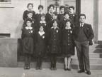 Anna Maria Borghetti insieme alle sue compagne di classe