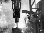 Colata al forno Martin-Siemens. Anni '50
