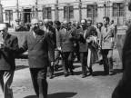 Personalità politiche in visita. Anni '40