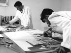 Scuola siderurgica, lezione di pittura. 1963