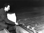 Controllo materiale al treno di laminazione. 1967