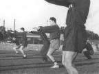 Calcio Piombino, allenamento. 1950