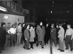 Vittorio Gassman in visita. 1962