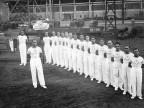 Squadra di ginnastica dopolavoro ILVA. Anni '30