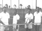 Giocatori di tennis. 1962