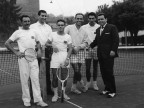 Gara di tennis. Anni '60