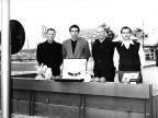 Gara di bocce. Anni '60