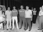 Gara di bocce, premiazione. Anni '70