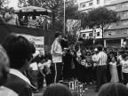 Premiazione gare di pattinaggio. Anni '70
