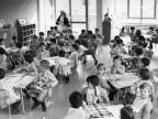 Primo giorno di asilo. 1966