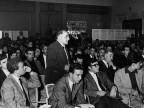 Partecipanti a una conferenza al circolo. Anni '60