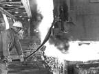 Acciaieria, fossa di colaggio. 1968