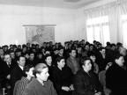 Assegnazione borse di studio agli allievi della scuola siderurgica. 1964