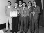 Premiazione dipendenti. 1968