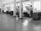 Sala disegnatori. Anni '60