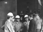 Studenti della scuola siderurgica. Anni '70