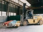 Reparto tubi finiti, movimentazione materiali. 2001