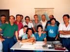 Maria Di Gregorio con i suoi colleghi.