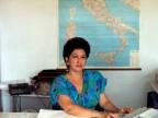 Maria Di Gregorio nell'ufficio Programmazione