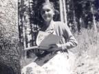 Stefania Pinti alla colonia estiva in Vallombrosa