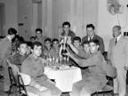 Scuola Tecnica Enrico Rocca. Allievi in festa. Anni '60