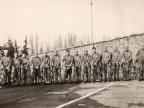 Squadra di ciclisti.