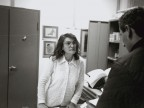 Rosaria Gambardella in ufficio.
