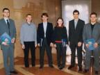 Borse di studio agli studenti del Politecnico nel Palazzo della Direzione.